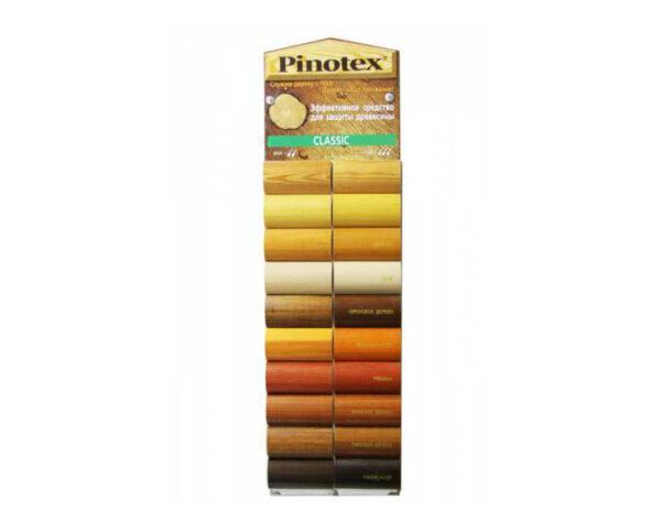 գույների կատալոգ Pinotex