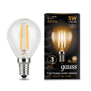 ԼԱՄՊ LED GAUSS 5W
